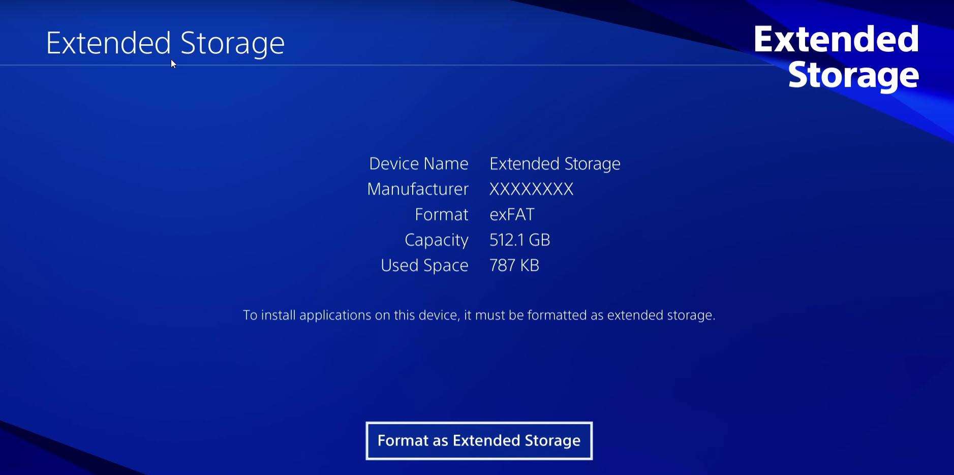 How to connect an external hard drive to a PS4 PRO