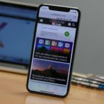 iPhone X: How to return directly to the beginning of a web