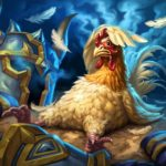 Developer Hearthstone turned into a chicken