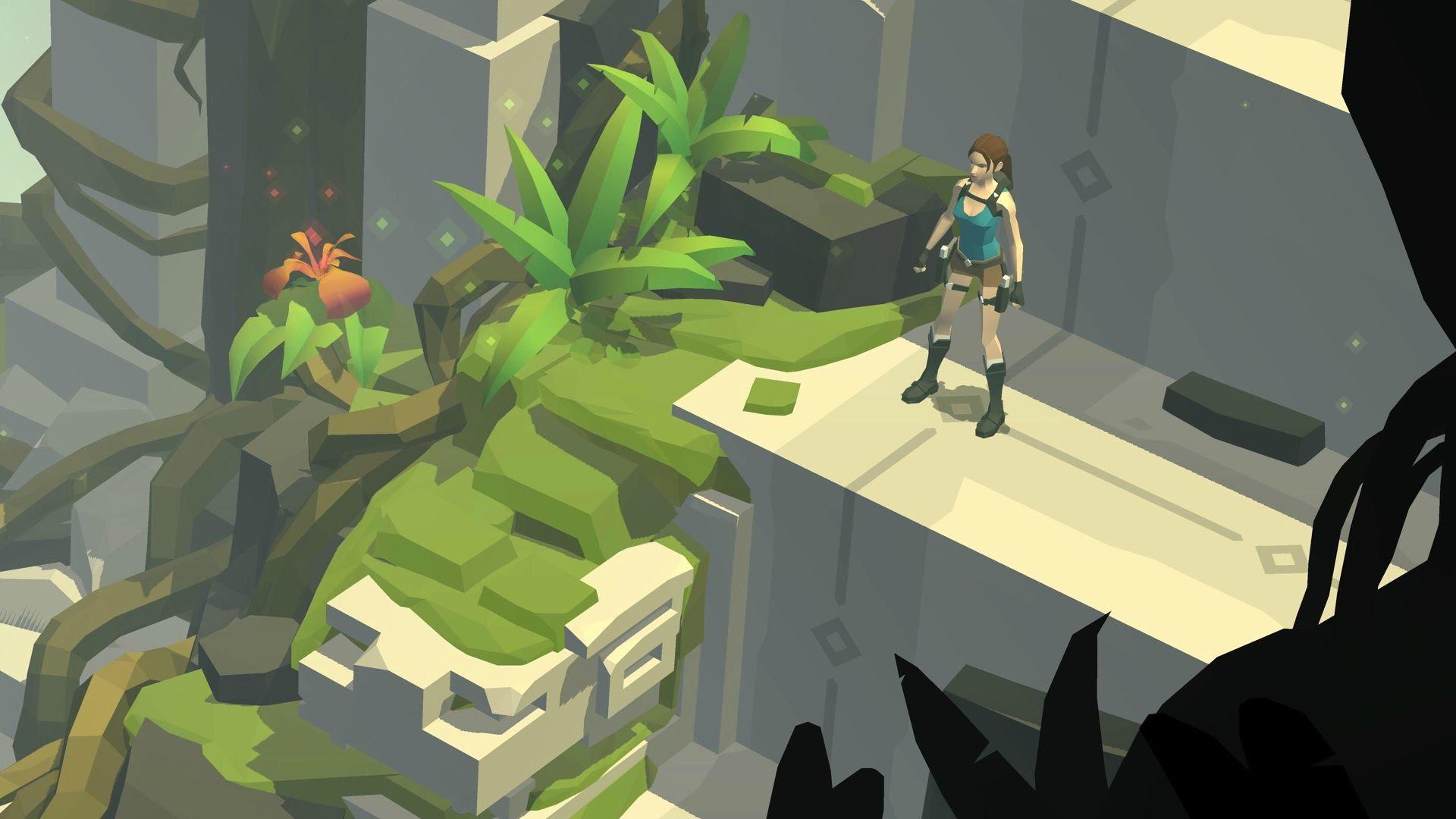 Lara Croft GO puzzle