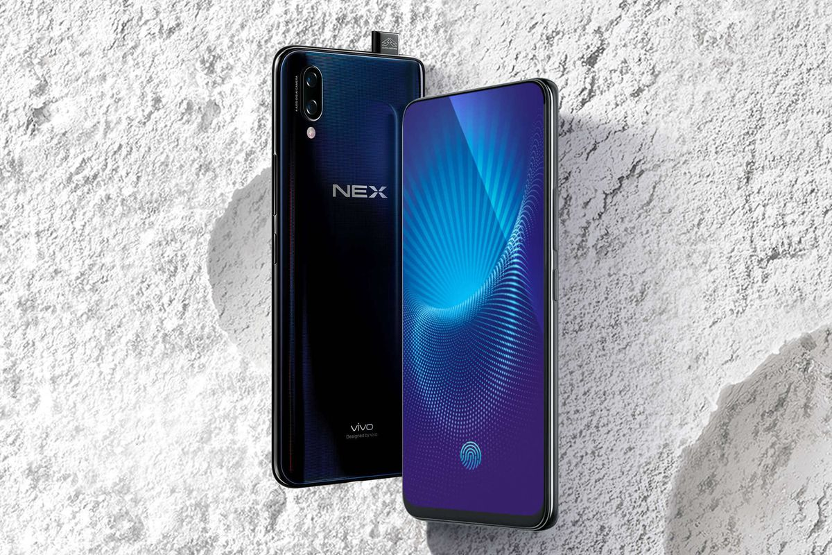 "Vivo NEX: ""crash test"" retractable chamber"