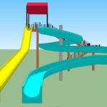 Water slides 3D for PC