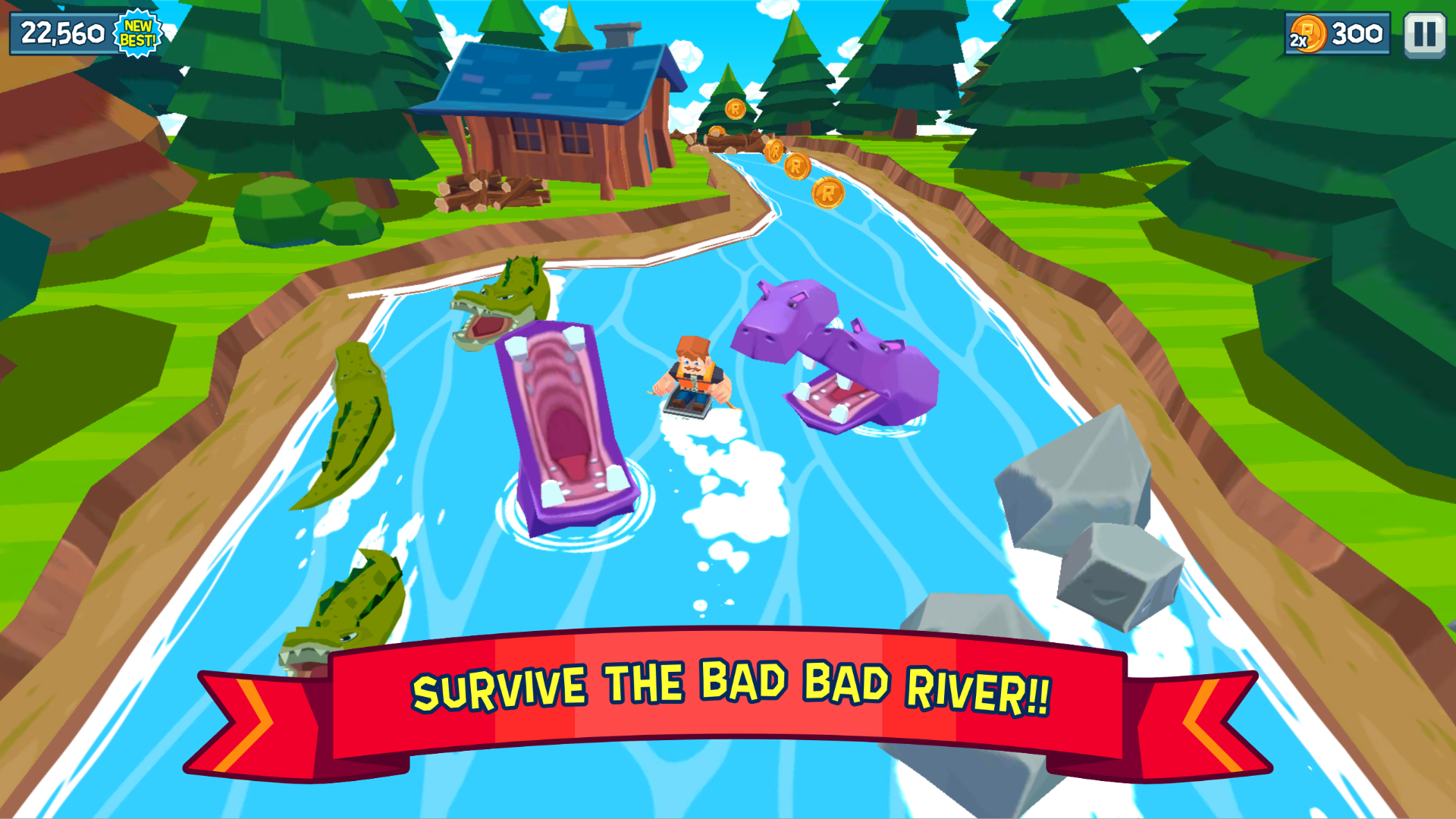 Rowan McPaddles - The Bad Bad River Rush