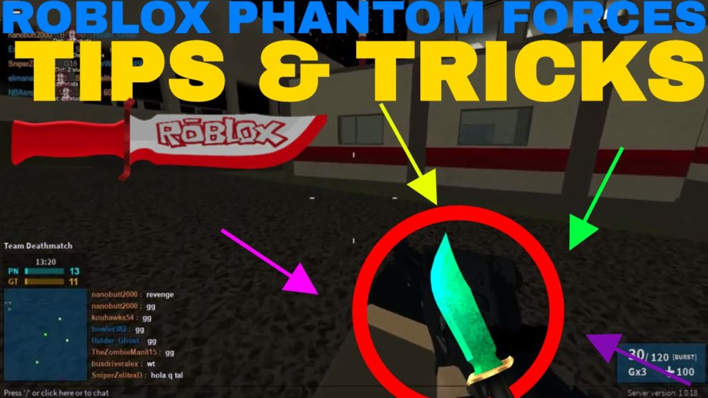 All In One Phantom Forces Tips And Tricks Technibuzz Com